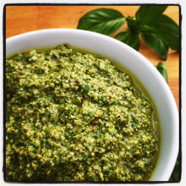 Walnut Basil Pesto 2