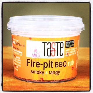 Fire-pit BBQ Rub mild