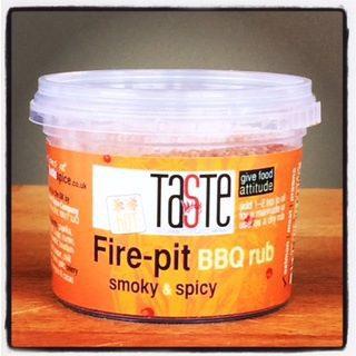 Fire-pit BBQ Rub hot