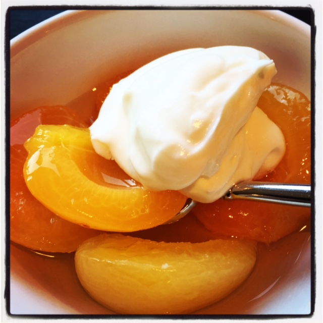 Vanilla Poached Apricots